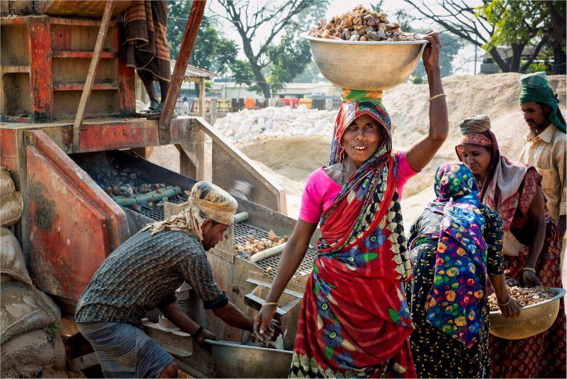 Women Stone Laborer 02, Schmidt  Barbara , Germany