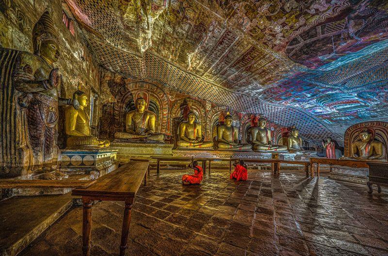 Blue Cave, Bandara  Pandula , Sri Lanka