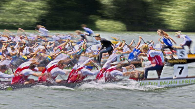 Dragon Boat Finish, Griepentrog  Hans-werner , Germany