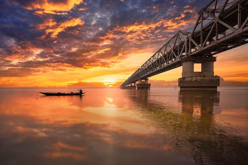 Sunset Hues, Das  Mayurjyoti , India