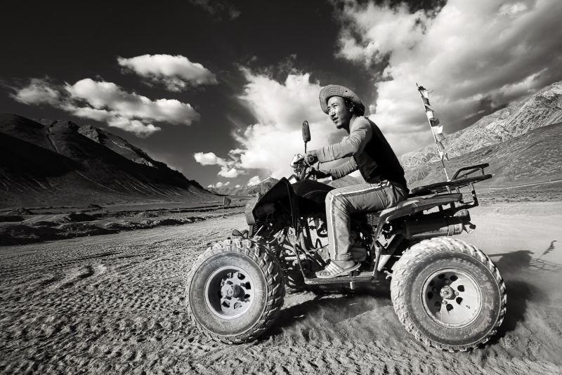 ATV Ride, Das  Mayurjyoti , India