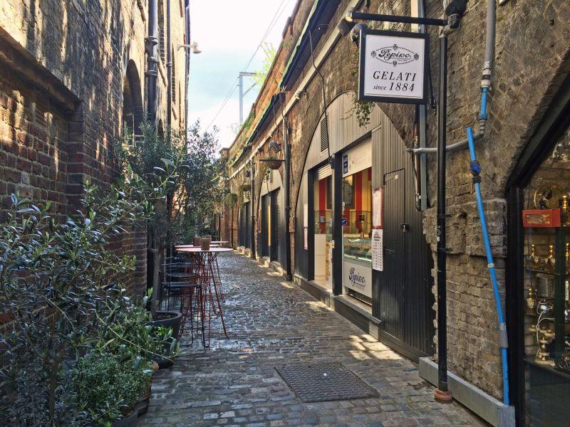 Behind The Market In Camden, Duke  Michael , England