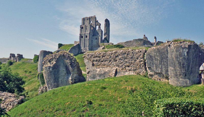 The Ruins Of Corfe Castle, Duke  Michael , England