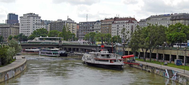 Vienna From The Danube, Duke  Michael , England