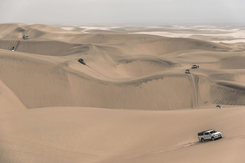 Crossing The Namib, Du Toit  Treurnicht , South Africa
