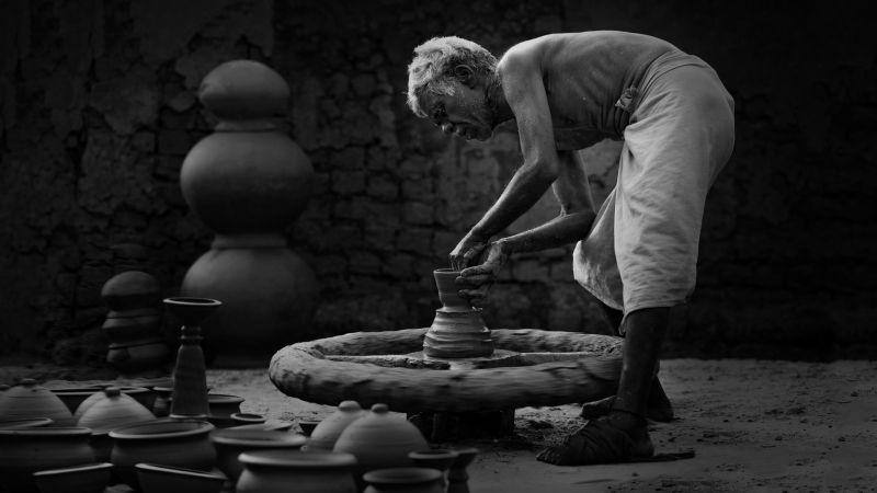 Pottery Pot Making, Deshpande  Anil Kumar , India