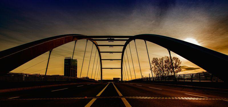 Bridge In The Morning, Hennings  Gunther , Germany
