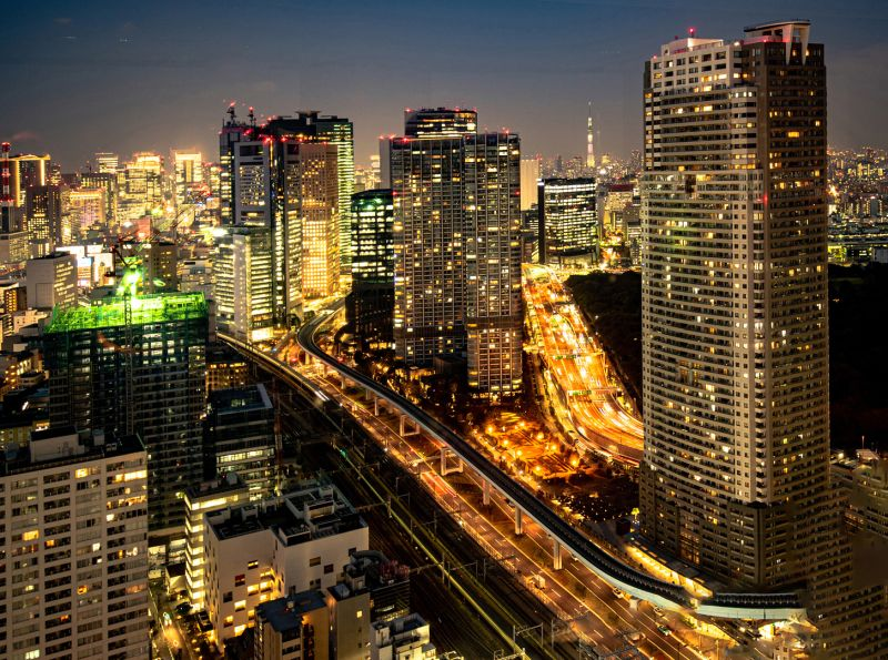 Tokyo By Night, Hennings  Gunther , Germany