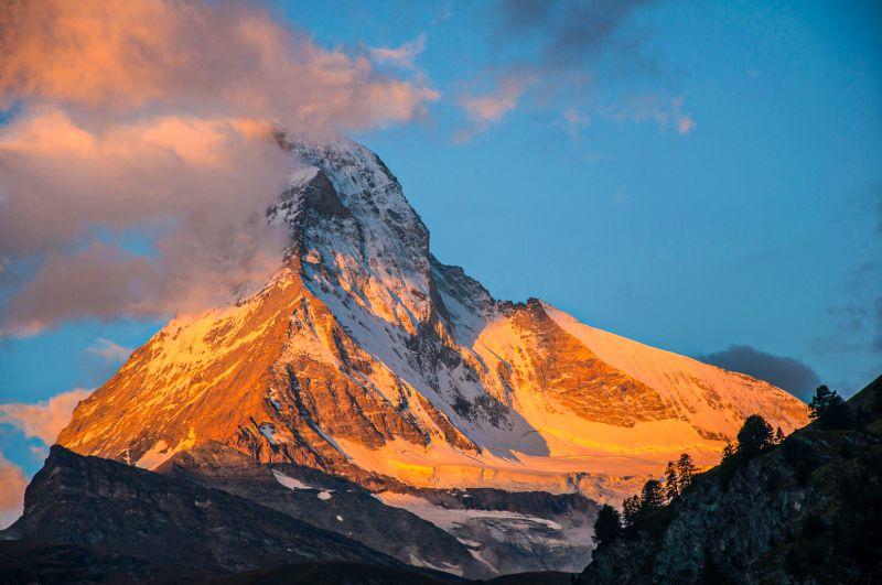 Matterhorn Switzerland, Hennings  Gunther , Germany