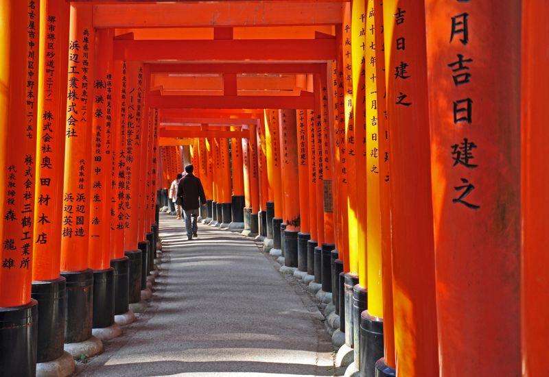 Fushimi Inari Shrone Kyoto, Hennings  Gunther , Germany