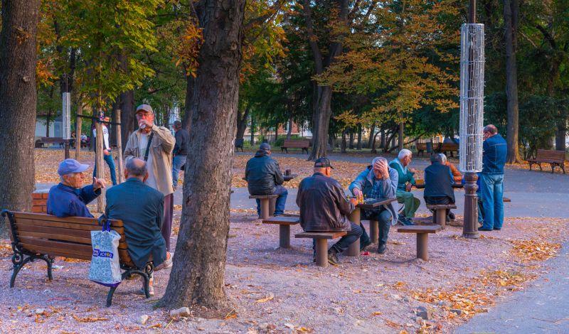 Chess Players In The Park, Kleindienst  Valerie , Australia