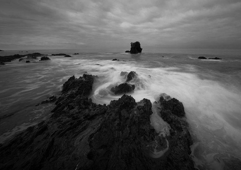 Corona Beach BW, Tran  Minhdung , Usa