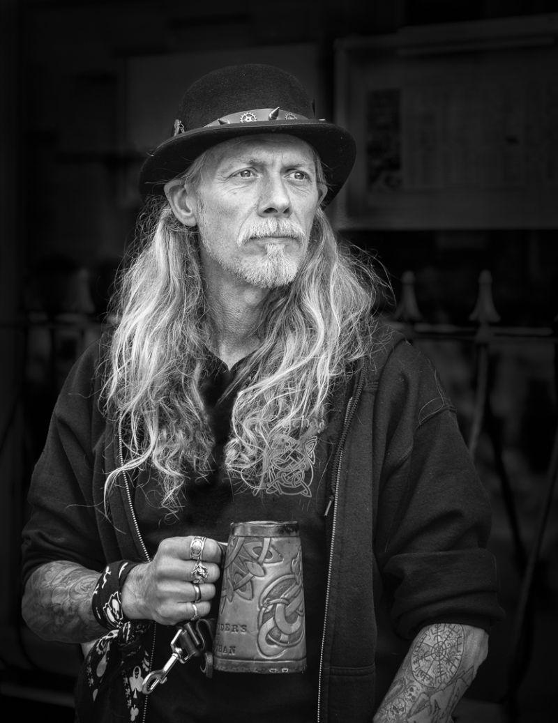 Bowler Hat And Long Hair, Price  David , England
