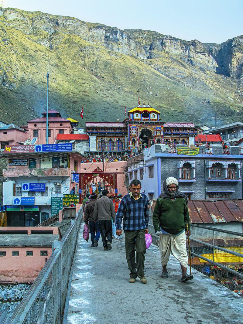 Path Leads To Badrinath Temple, Karmakar  Sanat Kumar , India