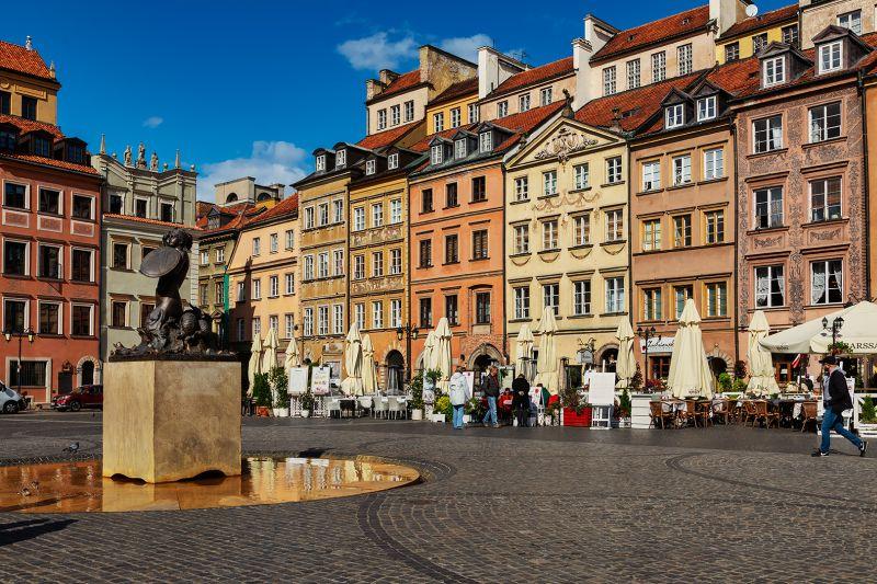Warsaw Cafes, Dedonato  Donald , Usa