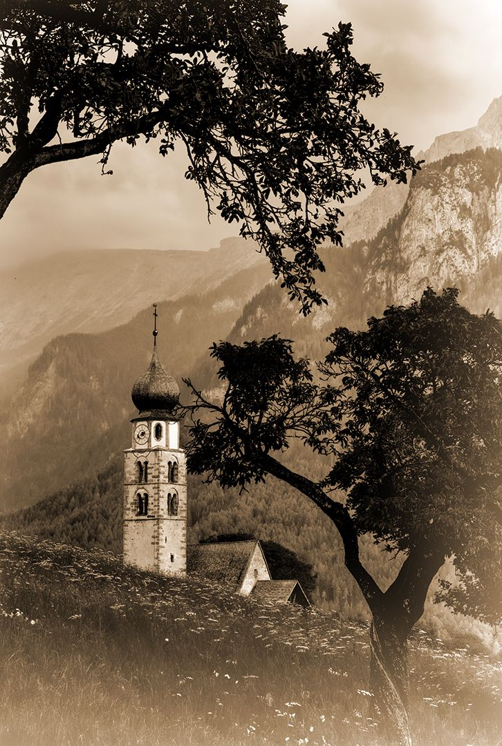 Church In The Mountains, Schmitz  Willi , Germany