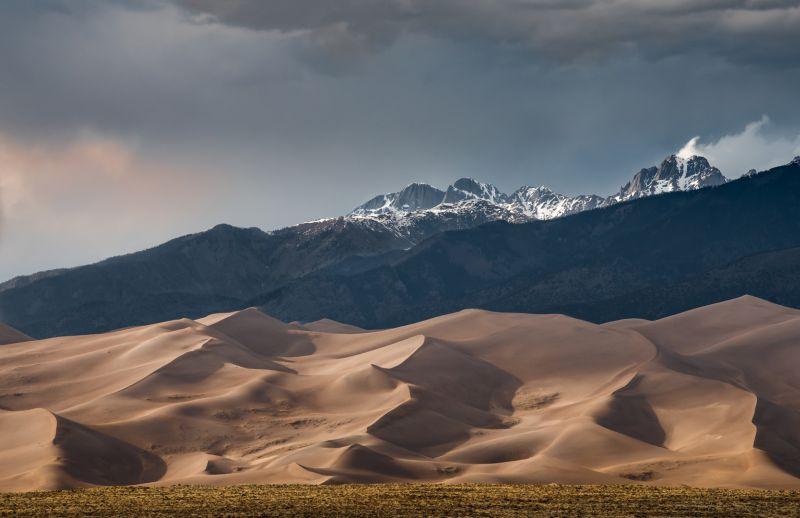 Rocky Mountains And Sand Dunes, Poggioni  Angela , Usa