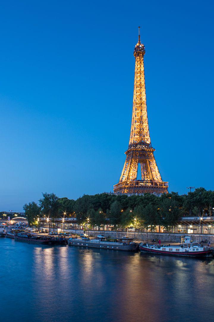 Eiffel Tower Blue Hour, Sokolsky  Oleg , Usa