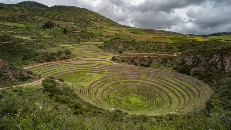 Archaeological Remains Of Moray, Sanguinetti  Hajime , Chile