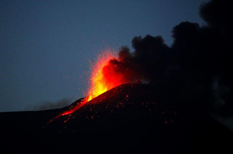Eruption Of The Etna Volcano, Bonaccorsi  Claudio , Italy