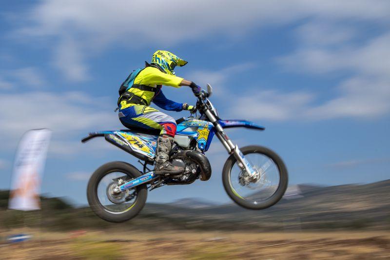 Motorcycle In A Jump, Amer  Eyal , Israel