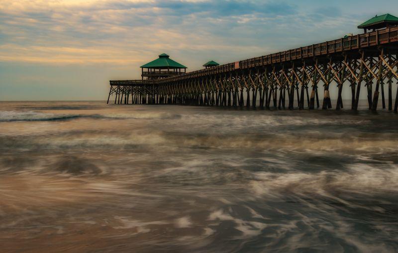 Folly Beach Pier, Weaver  Ken , Usa