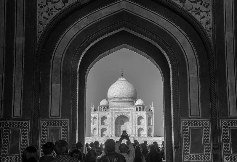 The Tajmahal Entrance, Jana  Partha Pratim , India
