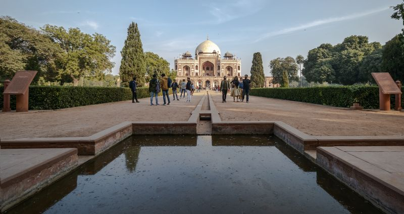 Humayun Tomb, Jana  Partha Pratim , India