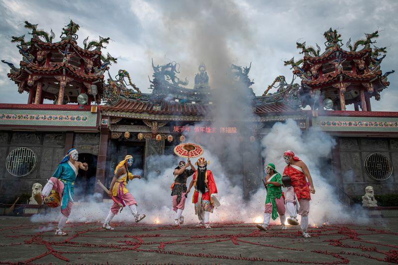 Playing Zhong Kui 5, Chang  Jen-chieh , Taiwan