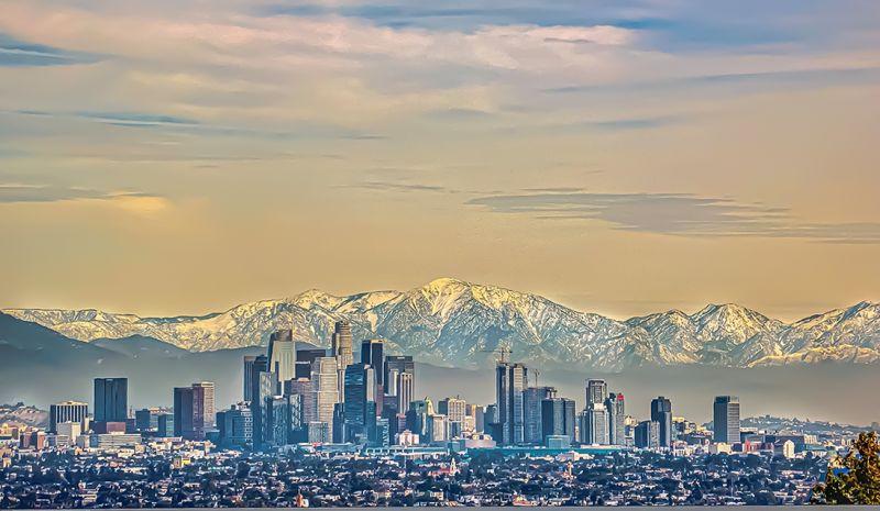 LOS ANGELES VIEW R, Ho  Hung , Usa