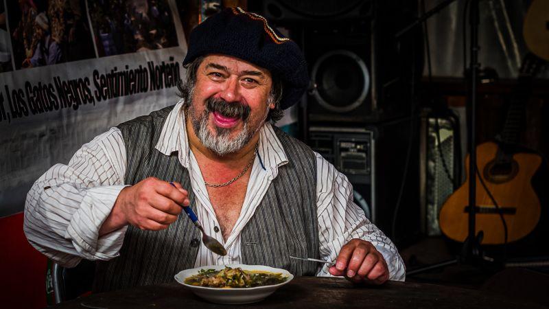 Eating Soup, Gomez Dodman  Loreto , Chile