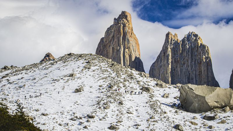 Trekking In Patagonia, Gomez Dodman  Loreto , Chile
