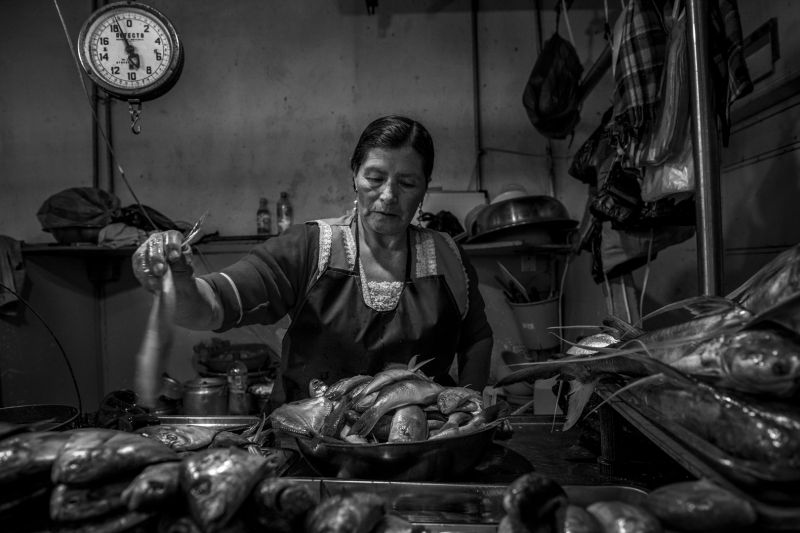 Ecuador Street And Market1, Ye  Danlei , Canada