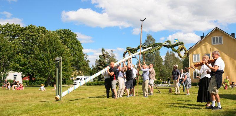 Midsummer In Jadraas 2, Andersson  Arne , Sweden