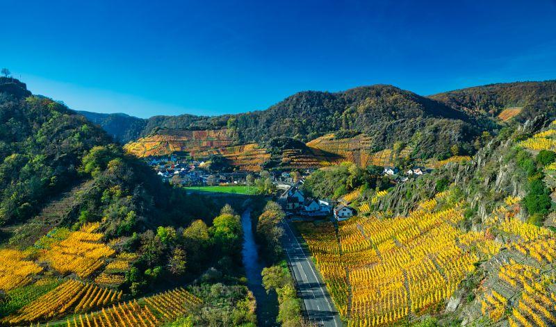 Ahrvalley In Autumn, Schmitz  Willi , Germany
