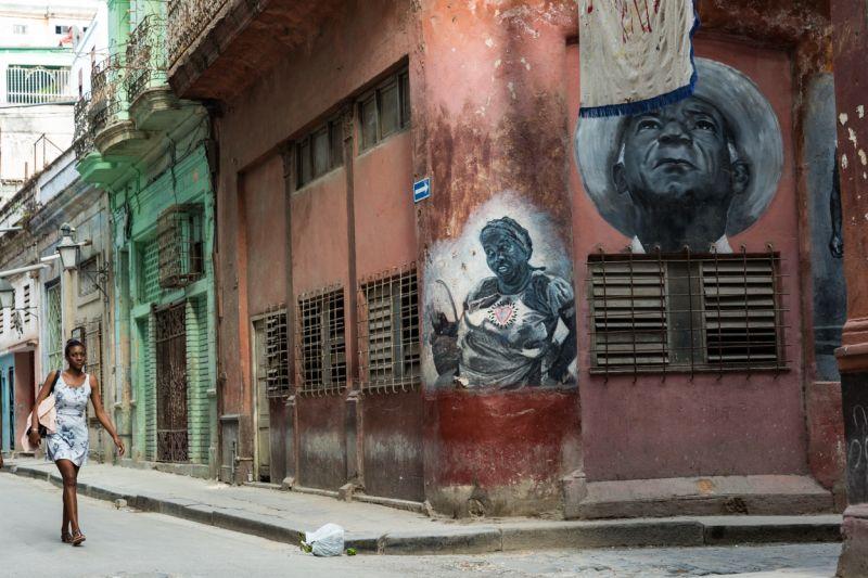 Cuban Street Scene, Clare  John , England