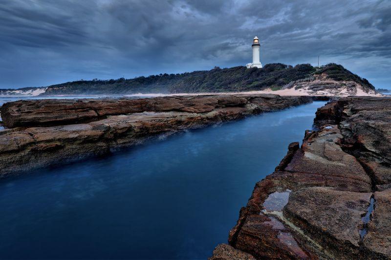 Norah Head Lighthouse Stormy Dawn, Cannon  Wally , Australia