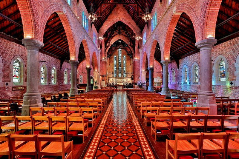 Saint Georges Cathedral, Cannon  Wally , Australia