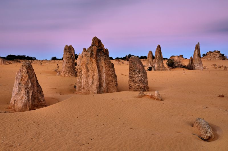Pinnacles Dusk, Cannon  Wally , Australia