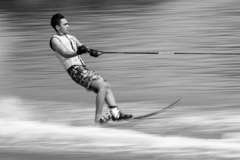 Waterskiing Competition, Adriani  Maria , Indonesia