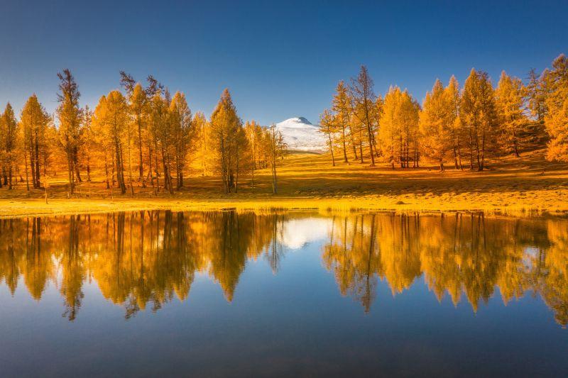 Altai Autumn Reflection, Tan  Min , Malaysia