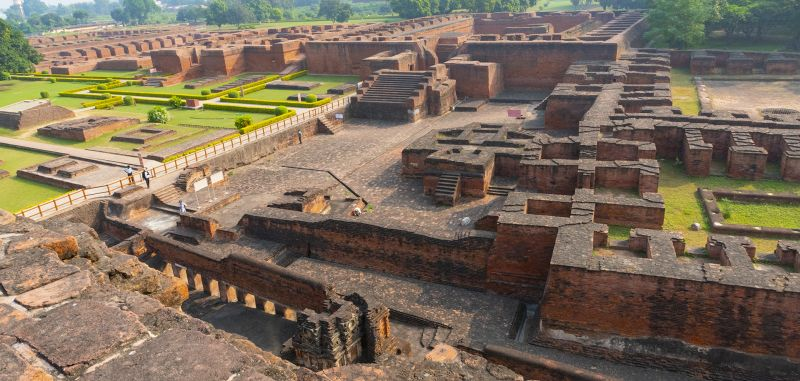 Ruins Of Nalanda 7363, Sinha  Barun , India