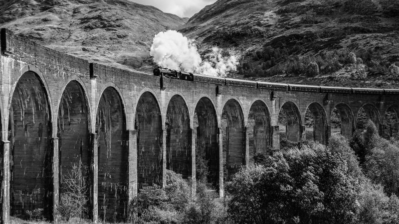 Steam Across Glenfinnan, Gilbert  Tim , England