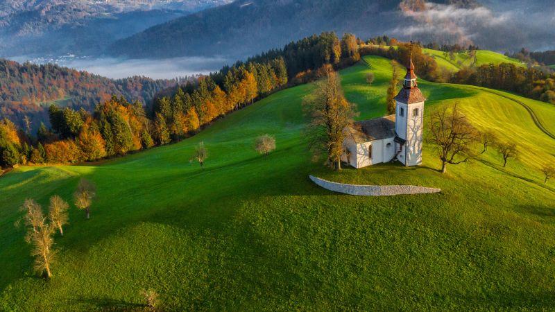 Autumn Morning, Balantic  Peter , Slovenia