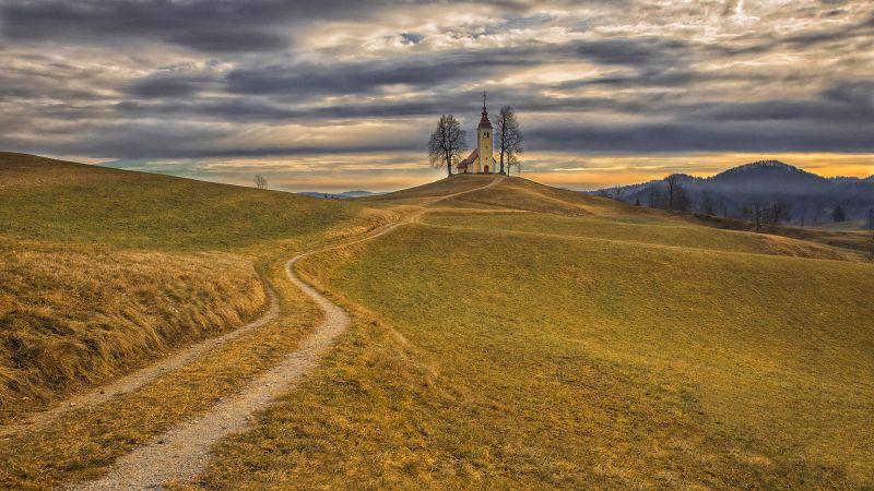 The Church In The Fall, Balantic  Peter , Slovenia