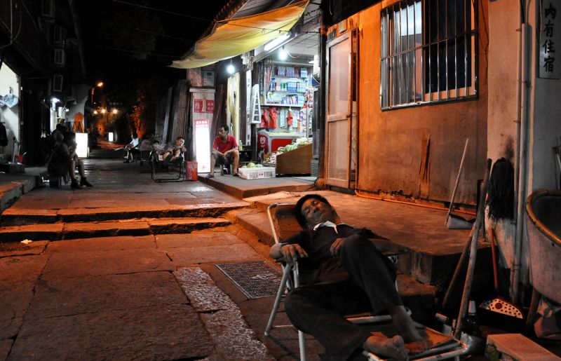 Sleeping Chinese Merchant By Night, Sindelar  Ralf , Germany