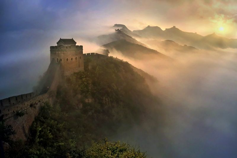 wong voon wah Great Wall Sunrise